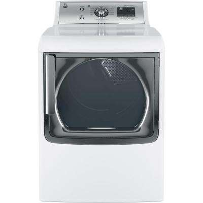 7.8 cu. ft. Gas Dryer with Steam in White