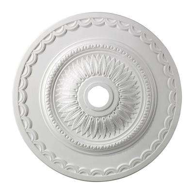 Brookdale 30 in. White Ceiling Medallion