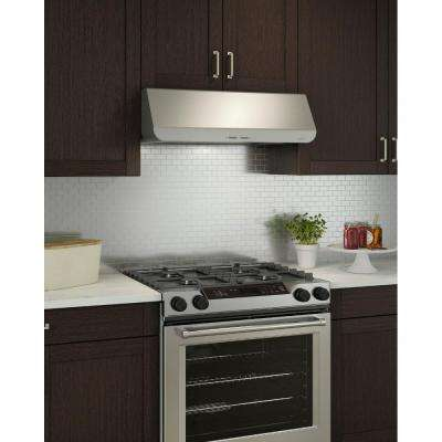Ananda NPDP1 30 in. Convertible Under Cabinet Range Hood with Light in Stainless Steel