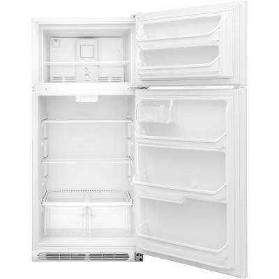 15 cu. ft. Top Freezer Refrigerator in White, ENERGY STAR