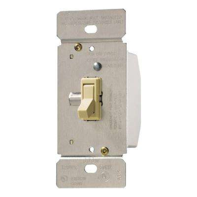 Trace 3-Way Single-Pole Toggle Dimmer, Ivory