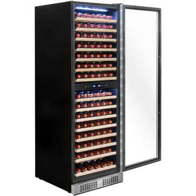 23.5 in. 160-Bottle Wine and 320-Can Built-in Compressor Beverage Cooler