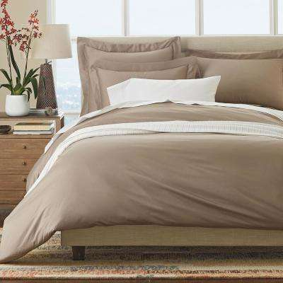 Legends Luxury Supima Sateen Solid Pillowcase (Set of 2)