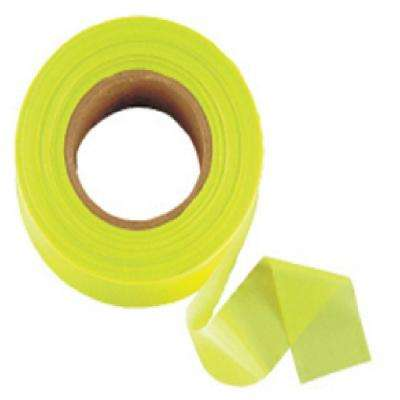 1 in. x 200 ft. Glo-Lime Flagging Tape