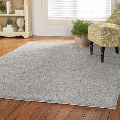 Ethereal Shag Gray 10 ft. x 13 ft. Indoor Area Rug