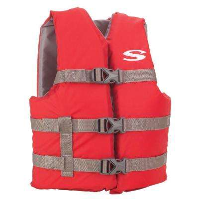 Youth Red Boating Life Vest