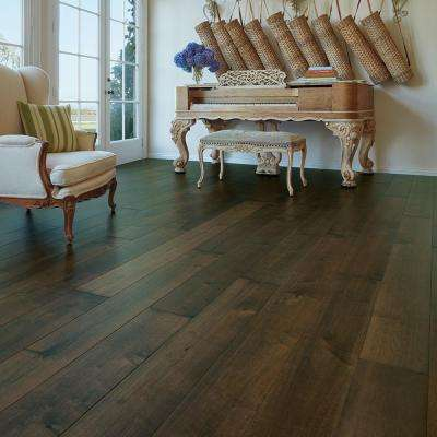 Maple Hermosa 3/8 in. Thick x 6-1/2 in. Wide x Varying Length Engineered Click Hardwood Flooring (23.64 sq. ft./case)