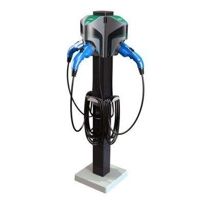 20 ft. 16 Amp 120/240-Volt Commercial/Workplace EV Charging Stations with Triple Pedestal