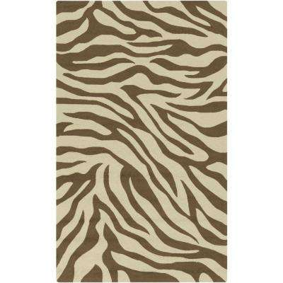 Ober Gabelhorn Taupe 2 ft. x 3 ft. Indoor/Outdoor Area Rug