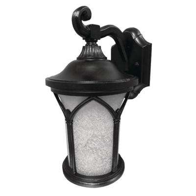 Callao Black Outdoor Integrated LED Wall Mount Lantern