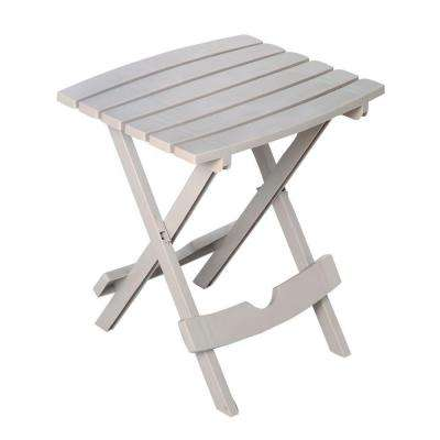 Quik-Fold Desert Clay Patio Side Table