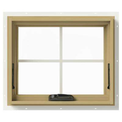 24 in. x 20 in. W-2500 Awning Aluminum Clad Wood Window