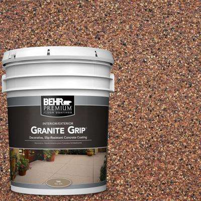 5 gal. #GG-09 Sunset Ridge Granite Grip Decorative Concrete Floor Coating