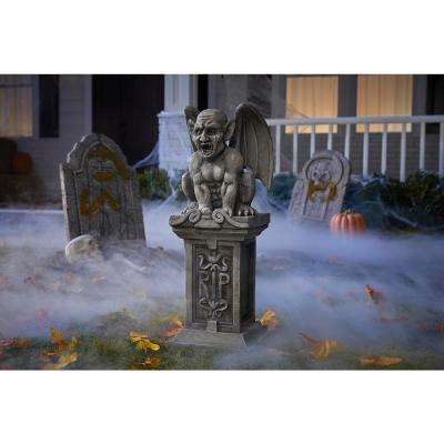 2 ft. Gryphon Halloween Yard Statue