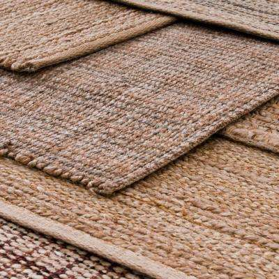 Natural Fiber Sonora Biscay-2 Rectangle 8 ft. x 10 ft. Eco-Friendly Indoor Area Rug