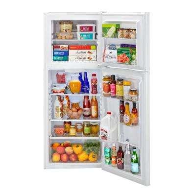 9.8 cu. ft. Top Freezer Refrigerator in White
