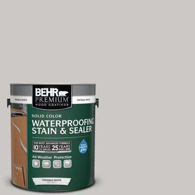 1 gal. #790E-2 Gentle Rain Solid Waterproofing Stain and Sealer