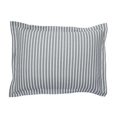 Aiden Stripe 200-Thread Count Cotton Percale Sham