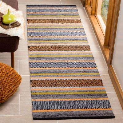 Montauk Navy/Multi 2 ft. 3 in. x 8 ft. Runner Rug