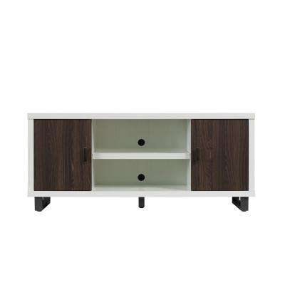 Van Horne TV Stand for 65 in. TVs in White