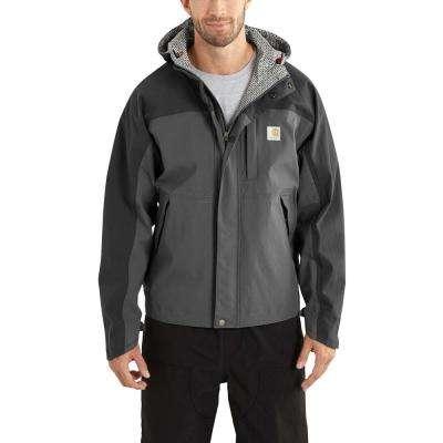 Men's 3 XL Black Nylon Shoreline Vapor Jacket