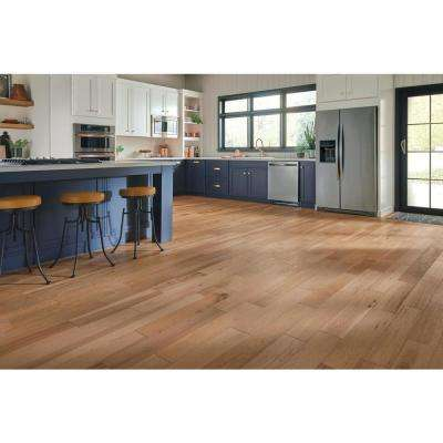 Hydropel Hickory Natural 7/16 in. T x 5 in. W x Varying Length Waterproof Engineered Hardwood Flooring (22.6 sq. ft.)