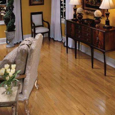 Laurel Gunstock Oak 3/4 in. Thick x 2-1/4 in. Wide x Varying Length Solid Hardwood Flooring (20 sq. ft. / case)