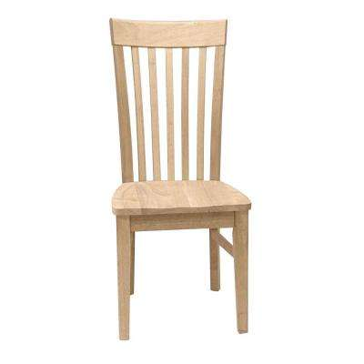 Unfinished Tall Mission Chair (Set of 2)