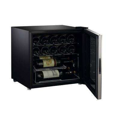 16-Bottle Wine Cooler with Mechanical Temperature Control