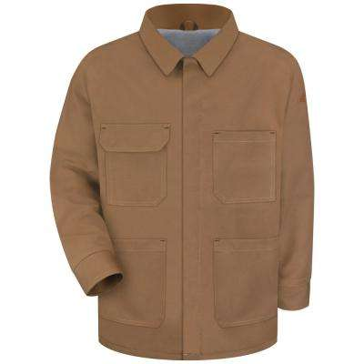 EXCEL FR ComforTouch Men's Brown Duck Brown Duck Lineman's Coat