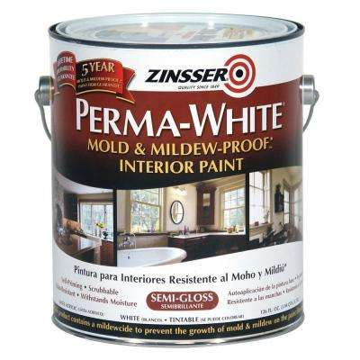 Perma-White Mold & Mildew-Proof Semi-Gloss Interior Paint