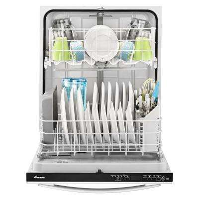 24 in. Top Control Buil-in Tall Tub Dishwasher in Stainless Steel with SoilSense Cycle