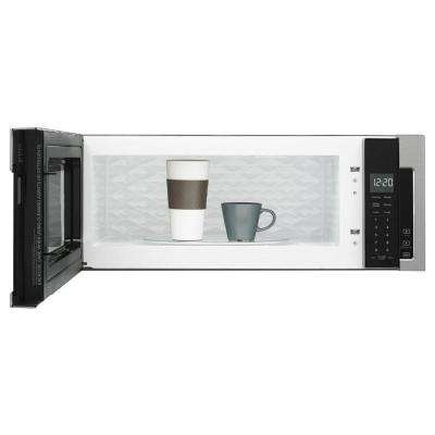 1.1 cu. ft. Over the Range Low Profile Microwave Hood Combination in Stainless Steel