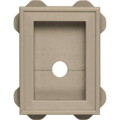 5.5 in. x 8.625 in. #085 Clay Wrap Around Mounting Block