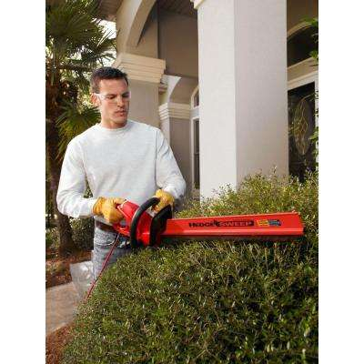 22 in. 3.7 Amp Electric Hedge Trimmer