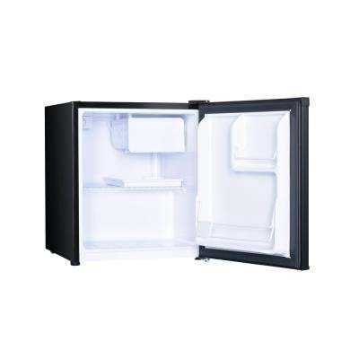 1.7 cu. ft. Mini Fridge Black with Freezer