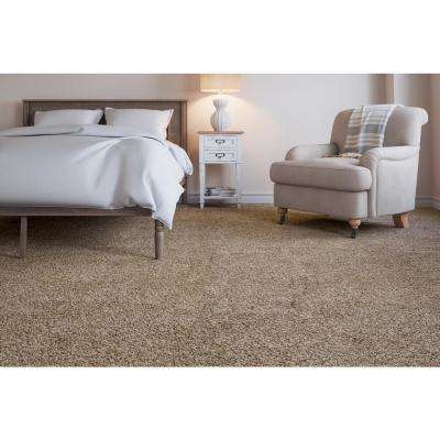 Collinger I-Color Busy Buff Textured 12 ft. Carpet