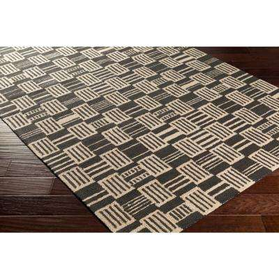 Congo Harriet Onyx Black 2 ft. x 8 ft. Indoor Runner Rug