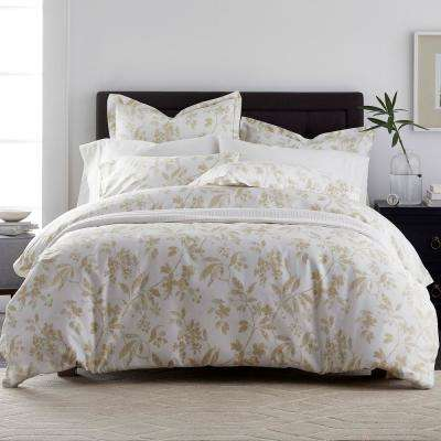 Chesterfield Floral 400-Thread Count Sateen Duvet Cover