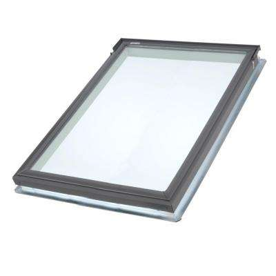 21 in. x 26-7/8 in. Fixed Deck-Mount Skylight with Laminated Low-E3 Glass
