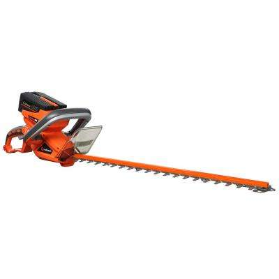 22 in. 40-Volt Lithium-Ion Cordless Hedge Trimmer