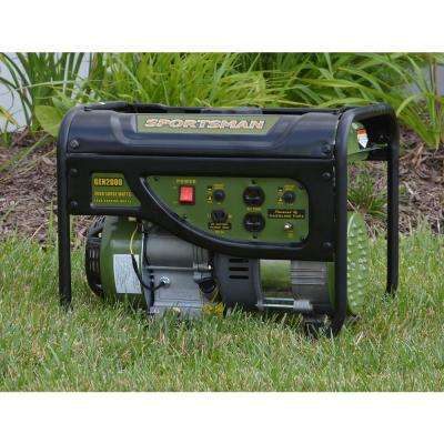 2,000/1,400-Watt Gasoline Powered Portable Generator