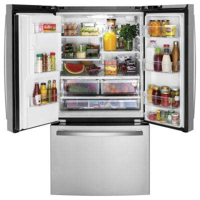 25.6 cu. ft. French Door Refrigerator in Fingerprint Resistant Stainless Steel, ENERGY STAR