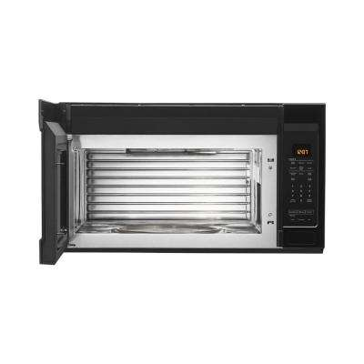 1.9 cu. ft. Over the Range Microwave with Dual Crisp Function in Black