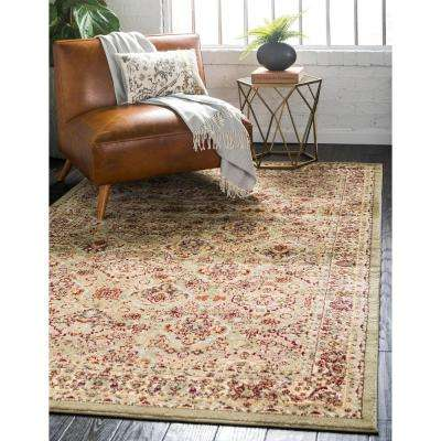 Voyage Colonial Light Green 7' 0 x 10' 0 Area Rug