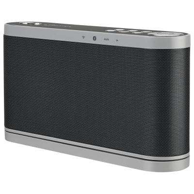 Wi-Fi Speaker With Rechargeable Battery, Black