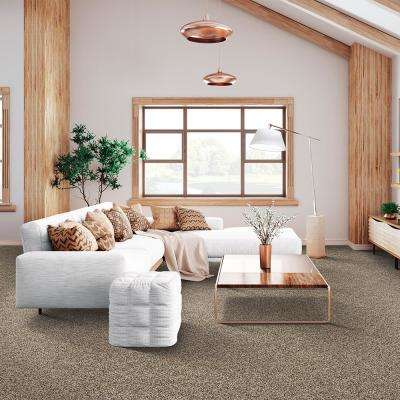 Maisie I - Color Prairie Dusk Texture 12 ft. Carpet