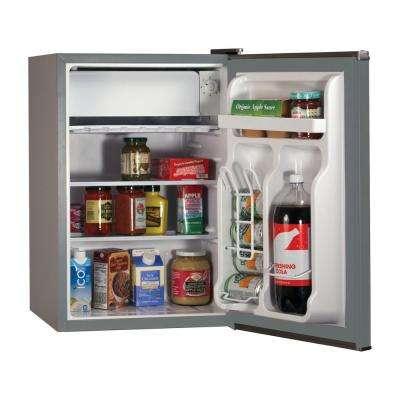 2.5 cu. ft. Mini Refrigerator in Silver