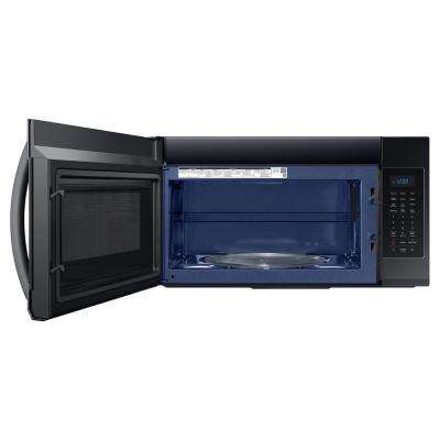 30 in. 1.9 cu. ft. Over-the-Range Microwave in Black