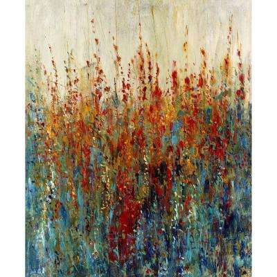 "44 in. x 36 in. ""Wild Flower Patch"" by Timothy O'Toole Gallery Wrapped Canvas Wall Art"